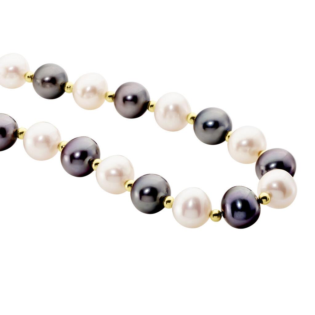 Collier Godolefa Or Jaune Perle De Culture - Bijoux Femme | Histoire d'Or