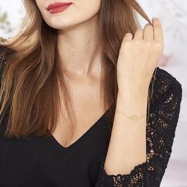 Bracelet Clemence Or Jaune - Bracelets Arbre de vie Femme | Histoire d'Or
