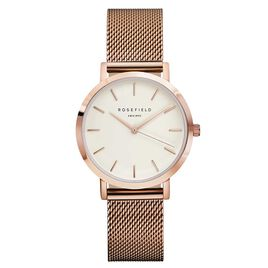 Montre Rosefield The Tribeca Blanc - Montres Femme | Histoire d'Or