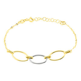 Bracelet Lucia Or Bicolore - Bijoux Femme | Histoire d'Or