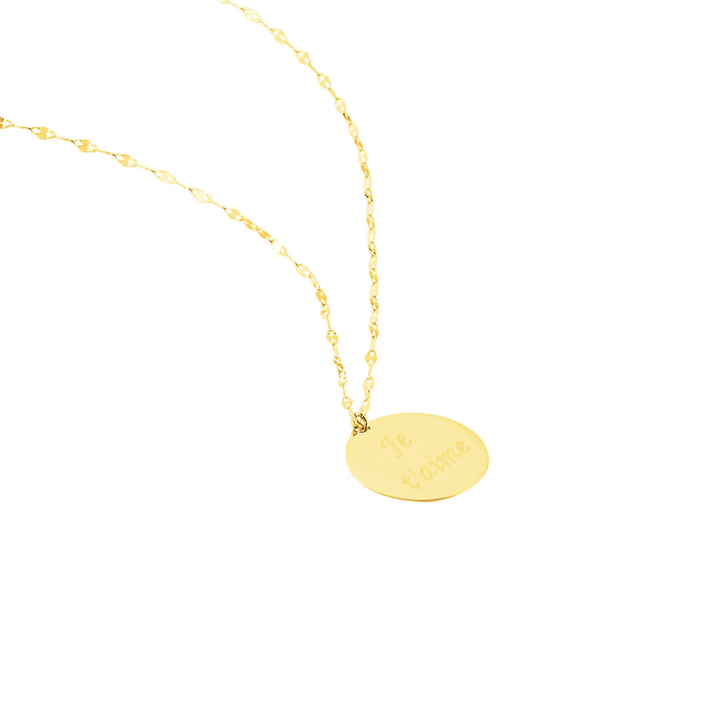 Collier Cilli Or Jaune - Bijoux Femme | Histoire d'Or