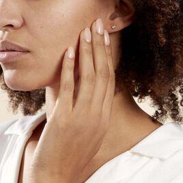Boucles D'oreilles Puces Fatiana Or Jaune Diamant - Clous d'oreilles Femme | Histoire d'Or