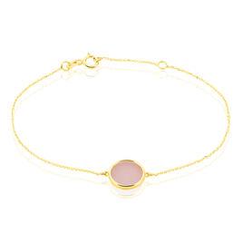 Bracelet Cemre Or Jaune Calcedoine - Bijoux Femme | Histoire d'Or