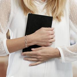 Bracelet Adjara Argent Blanc Oxyde De Zirconium - Bracelets fantaisie Femme | Histoire d'Or
