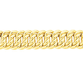 Collier Melyana Maille Américaine Plaque Or Jaune - Chaines Femme | Histoire d'Or