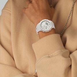 Montre Casio G-shock Blanc - Montres Femme   Histoire d'Or