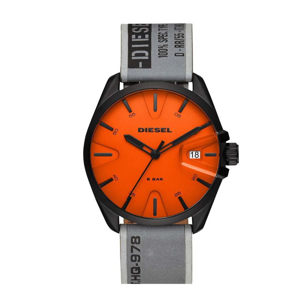 Montre Diesel Ms9 Orange - Montres tendances Homme   Histoire d'Or