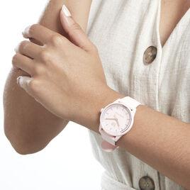 Montre Ice Watch Solar Power Rose - Montres Femme   Histoire d'Or