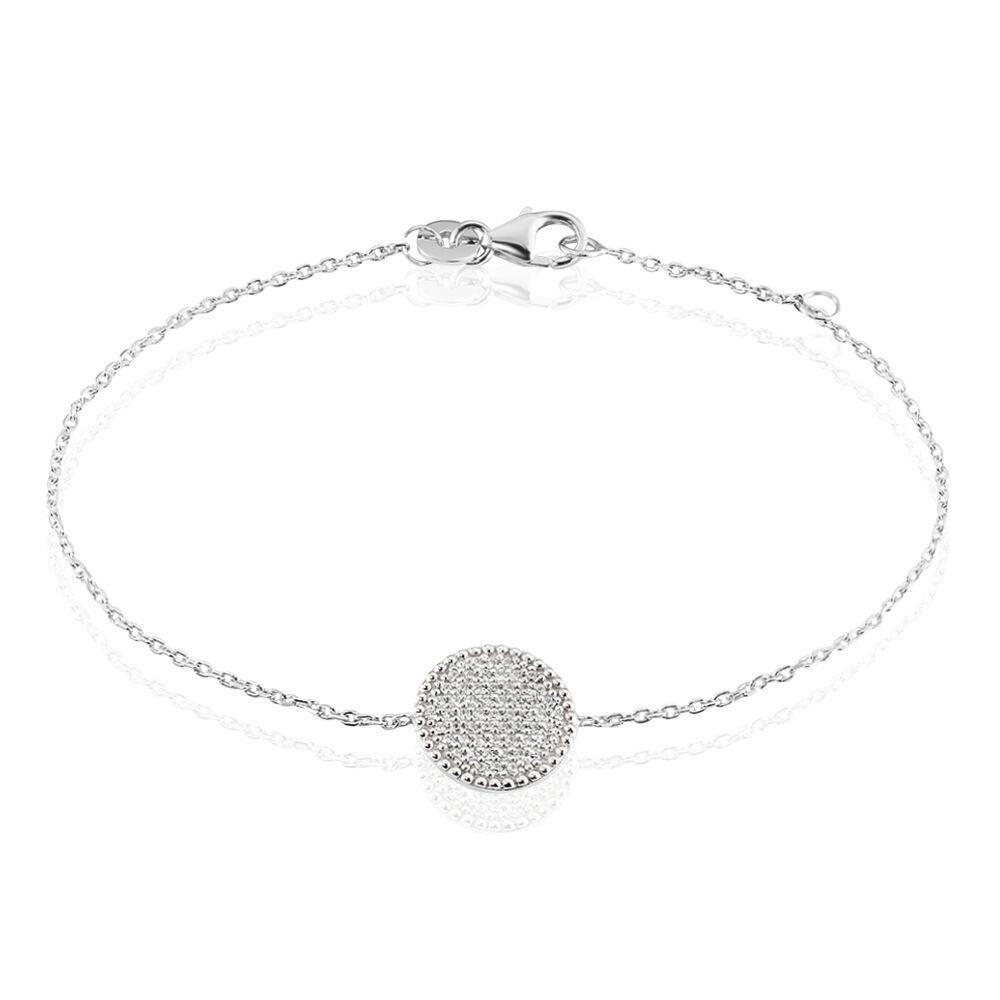 Bracelet Ulrik Argent Blanc Oxyde De Zirconium