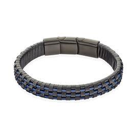 Bracelet Acier Noir - Bracelets fantaisie Homme   Histoire d'Or