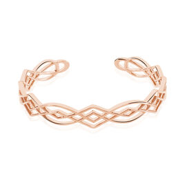 Bracelet Jonc Maharaja Argent Rose - Bracelets joncs Femme   Histoire d'Or