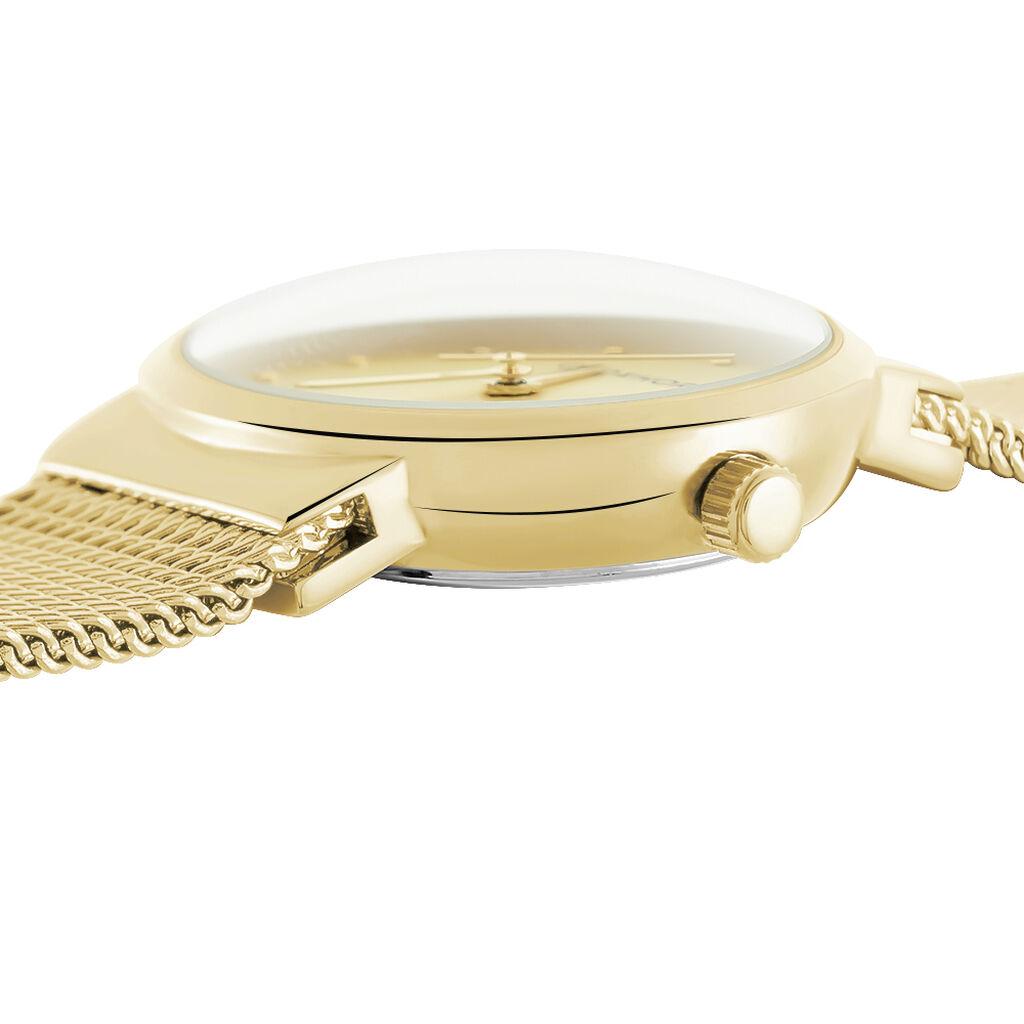 Montre Codhor Fleur Champagne - Montres Femme | Histoire d'Or
