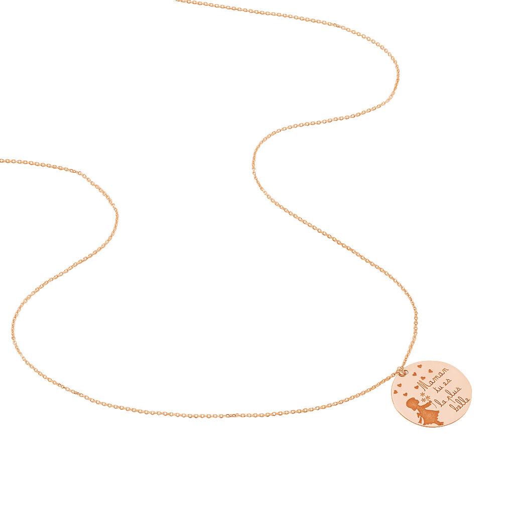 Collier Beatine Or Rose - Bijoux Femme | Histoire d'Or