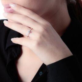 Bague Solitaire Victoria Or Blanc Diamant - Bagues solitaires Femme | Histoire d'Or