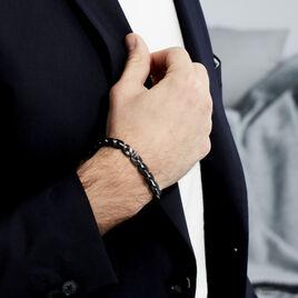 Bracelet Kafe Acier Blanc - Bijoux Homme | Histoire d'Or