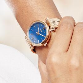 Montre Fossil Fsl Carlie Mini Bleu - Montres tendances Femme   Histoire d'Or