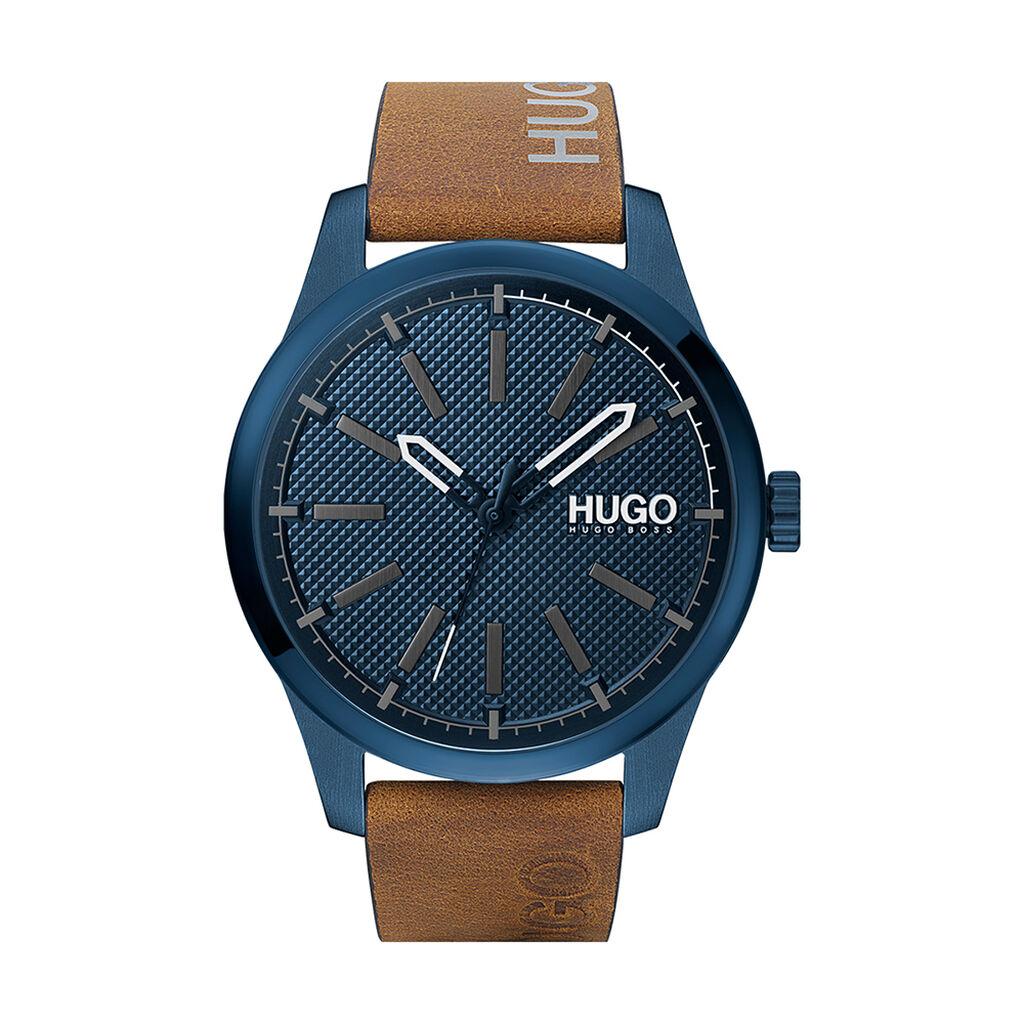 Montre Hugo Invent Bleu - Montres Homme | Histoire d'Or