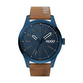 Montre Hugo Invent Bleu - Montres Homme   Histoire d'Or