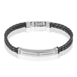 Bracelet Aysen Acier Blanc - Bracelets fantaisie Homme   Histoire d'Or