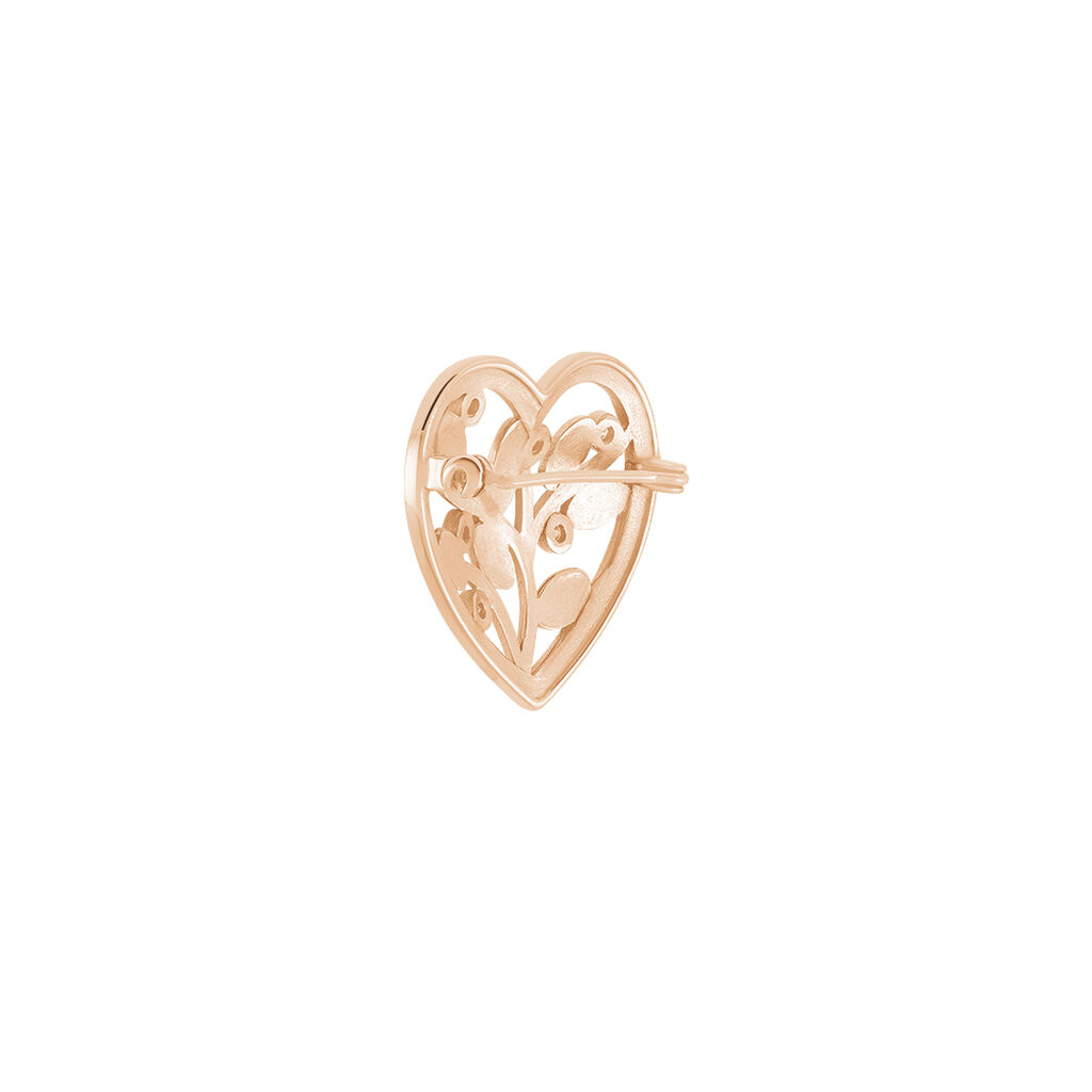 Broche Douglas Argent Rose Oxyde De Zirconium - Broches Arbre de vie Femme | Histoire d'Or