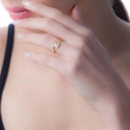 Bague Solitaire Jaymie Or Jaune Diamant - Bagues solitaires Femme | Histoire d'Or