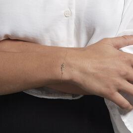 Bracelet Anuradha Or Jaune - Bracelets Plume Femme | Histoire d'Or