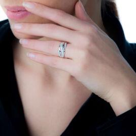 Bague Phaedra Or Blanc Diamant - Bagues avec pierre Femme | Histoire d'Or