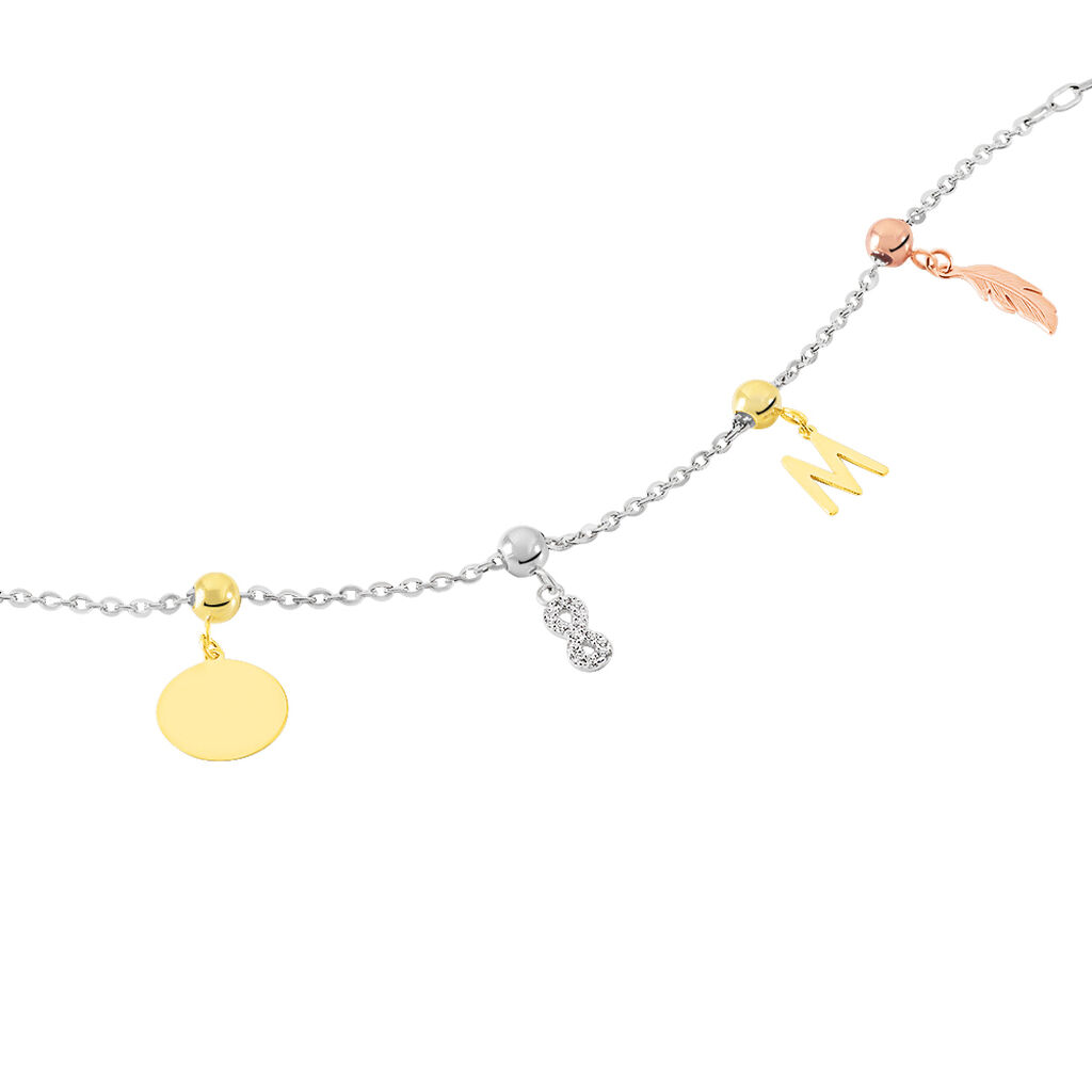Charms Lean Or Jaune - Charms Femme | Histoire d'Or