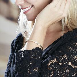 Bracelet Jonc Capucina Grec Or Jaune - Bracelets joncs Femme | Histoire d'Or