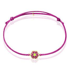 Bracelet Ines Fleur Or Jaune - Bracelets Naissance Enfant   Histoire d'Or