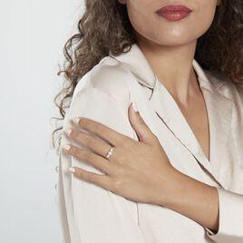 Bague Jwan Or Jaune Perle De Culture - Bagues avec pierre Femme   Histoire d'Or