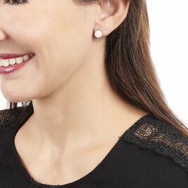 Boucles D'oreilles Joana Or Jaune - Clous d'oreilles Femme | Histoire d'Or