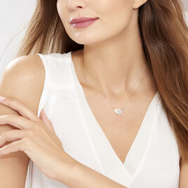 Collier Zora Or Jaune - Colliers Coeur Femme   Histoire d'Or
