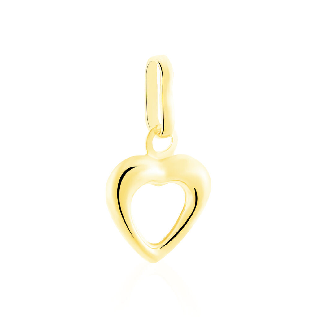 Pendentif Eudocie Coeur Bombe Or Jaune - Pendentifs Coeur Unisexe | Histoire d'Or