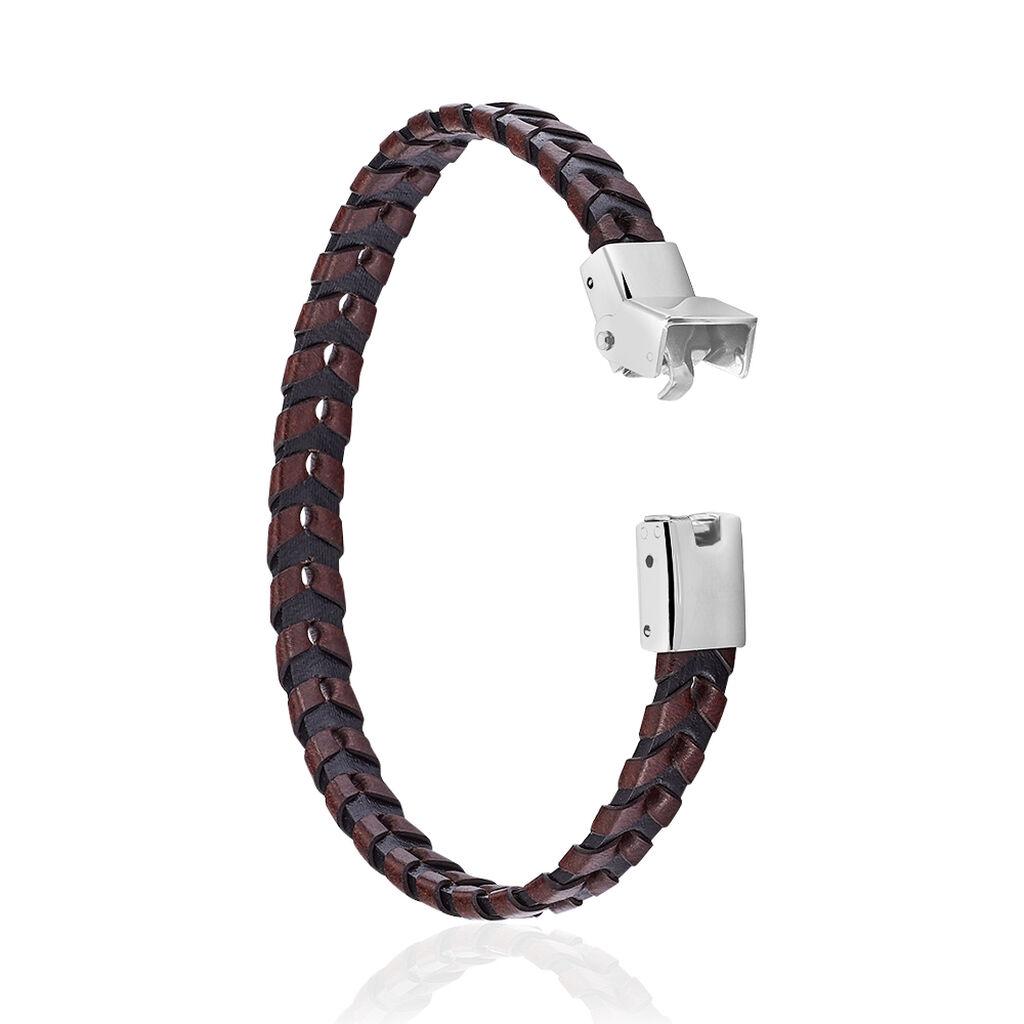Bracelet Yannis Acier Blanc - Bracelets fantaisie Homme | Histoire d'Or