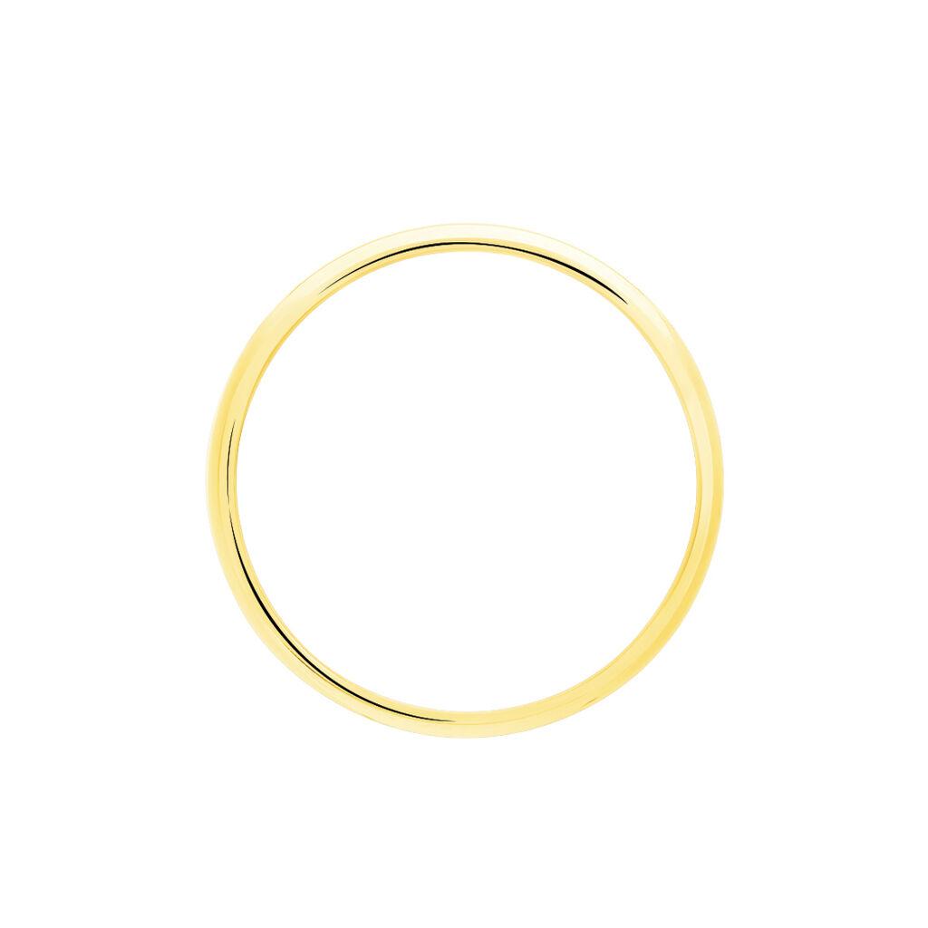 Bague Pina Plaque Or Jaune - Bagues fantaisie Femme   Histoire d'Or