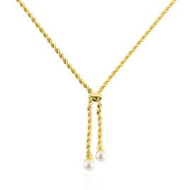 Chaîne Hatsu Or Jaune Perle De Culture - Chaines Femme | Histoire d'Or