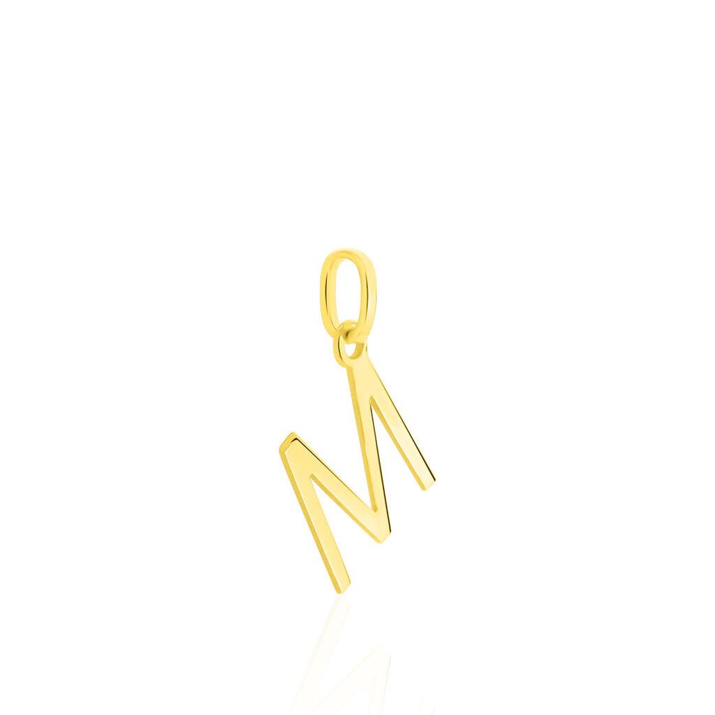 Pendentif Ionia Lettre Or Jaune - Pendentifs Unisexe | Histoire d'Or