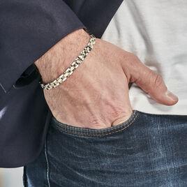 Bracelet Tom Acier Bicolore - Bijoux Homme | Histoire d'Or