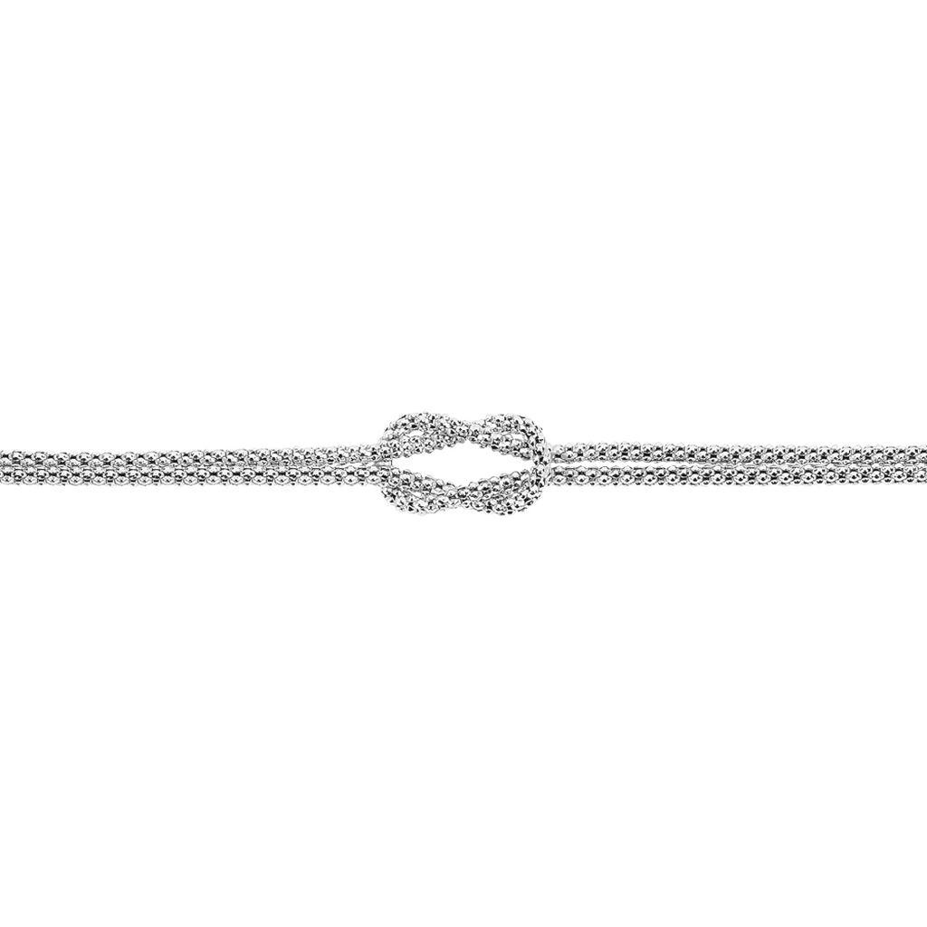 Bracelet Firouz Argent Blanc - Bracelets chaîne Femme   Histoire d'Or