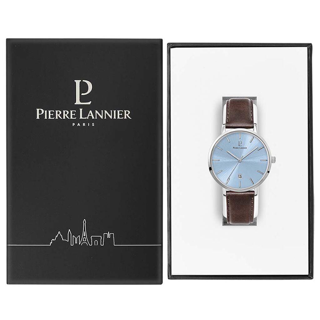 Montre Pierre Lannier Collection Echo Bleu - Montres classiques Homme | Histoire d'Or