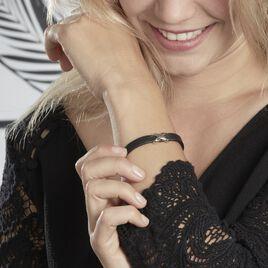Bracelet Laetus Acier Blanc - Bracelets Croix Femme   Histoire d'Or