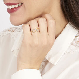 Bague Or Jaune Anais Diamants - Bagues Infini Femme | Histoire d'Or