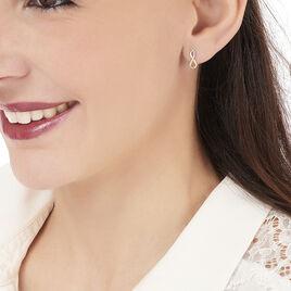 Boucles D'oreilles Puces Samy Or Jaune Diamant - Clous d'oreilles Femme | Histoire d'Or