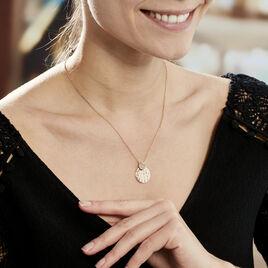 Collier Neola Plaque Or Jaune Quartz - Bijoux Femme   Histoire d'Or