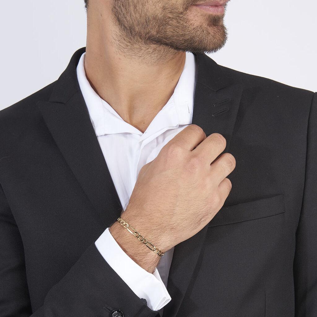 Bracelet Marinetteae Or Jaune - Bracelets chaîne Homme | Histoire d'Or