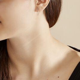 Bijoux D'oreilles Eleana Or Blanc Oxyde De Zirconium - Ear cuffs Femme   Histoire d'Or