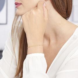 Bracelet Assiba Or Jaune - Bijoux Femme   Histoire d'Or