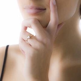 Bague Valeriana Or Jaune Oxyde De Zirconium - Bagues Coeur Femme | Histoire d'Or