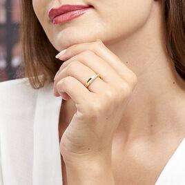Bague Lia Plaque Or Jaune Oxyde De Zirconium - Bagues avec pierre Femme | Histoire d'Or